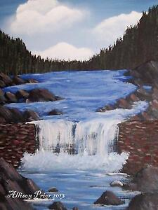FREE ACRYLIC PAINTING VIDEO LESSONS ONLINE! St. John's Newfoundland image 5