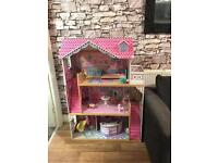 Barbie Size House and furniture