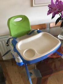 Fisher Price booster seat (attaches to chair for feeding)