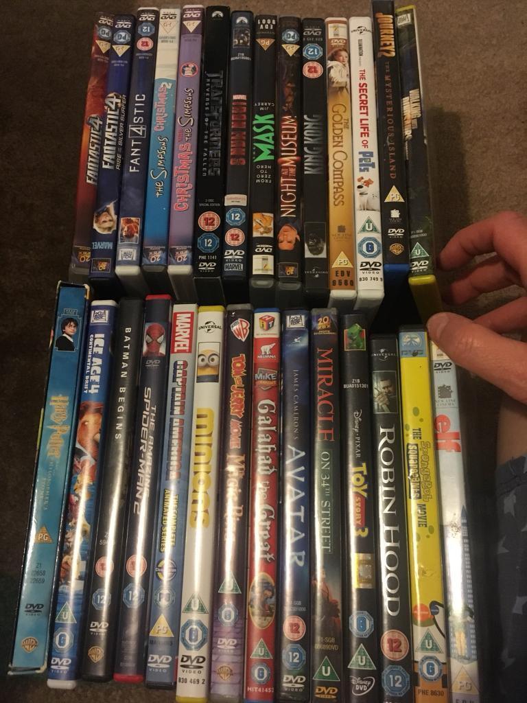 28 kids dvds