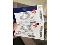 Sam Smith O2 concert tickets Saturday 7th April