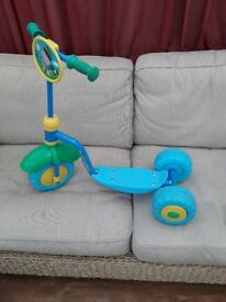 Peppa pig children's tri scooter