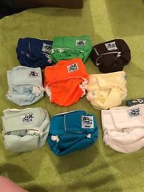 Brand New softbums shells the most customisable reusable cloth nappy newborn upwards