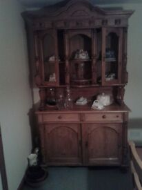 Old Pine French Dresser