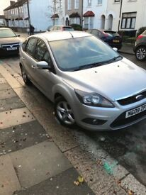 FORD FOCUS 1,6 ZETEC 2009 5-DOORS SILVER