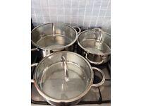 Casserole / saute / stew pans
