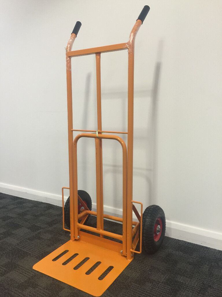 Hand Truck with Deep Toe Plate
