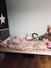Kids designers bed with mattress / PERFECT CONDITION