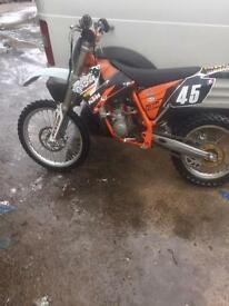 Ktm 85 sx big wheel very clean bike