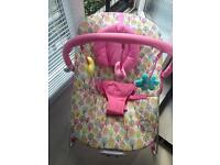 Mothercare Baby Bouncer Excellent cond with box only used an handful of times