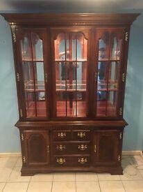 Display Cabinet solid wood