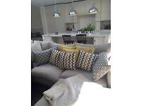 6 geometric scatter cushion. 2 sizes