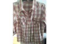 Simple plaid shirt