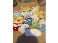20 cloth nappies