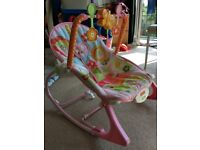 Fisher Price infant and toddler rocker - very rarely used