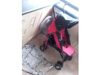 Chicco echo stroller with rain cover