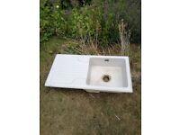 Garden planter pot Belfast type sink
