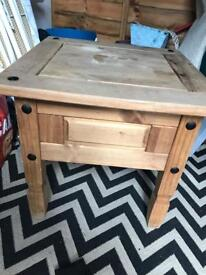 Corona pine table.