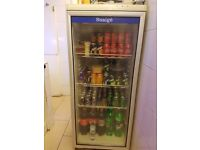 Drinks display fridge. Good condition and nice working.