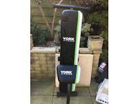 York fitness fold up bench