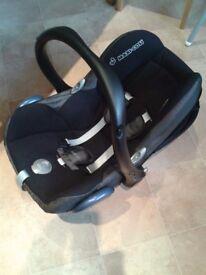 Maxi Cosi Cabriofix rear facing baby car seat