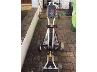 Sun Mountain Micro Cart Trolley & MCB Rangefinder Cart Bag & Hedgehog Wheels