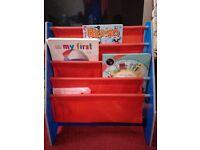 Disney car book sling book shelf