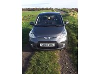 Hyundai I10 with sunroof and heated front seats