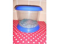 FISH TANK WITH GRAVEL