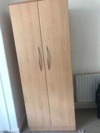 Double door large wardrobe