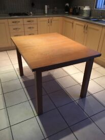 Wooden Extendable Table 6 seater