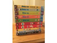 Family Guy series 1 to 10 excellent condition