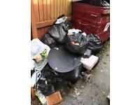 Rubbish junk removed tip runs skip alternative cheap