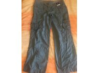 Size 14 Dorothy Perkins cargo style trousers
