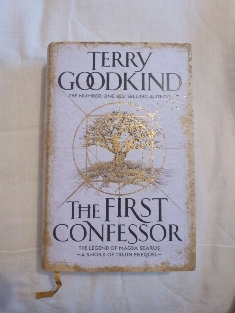 NEW SIGNED TERRY GOODKIND 'THE FIRST CONFESSOR'