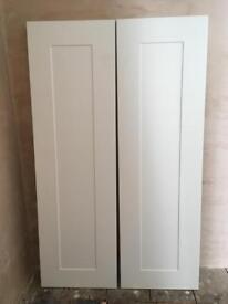 NEW kitchen larder doors