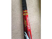 Slazenger hockey stick and case