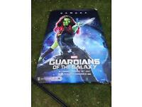 "Guardians of the Galaxy ""Gamora"" Vinyl Poster"