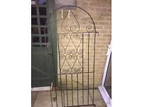 Metal iron 6ft gate