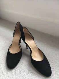 @Hobbs Suede High Heels Shoes