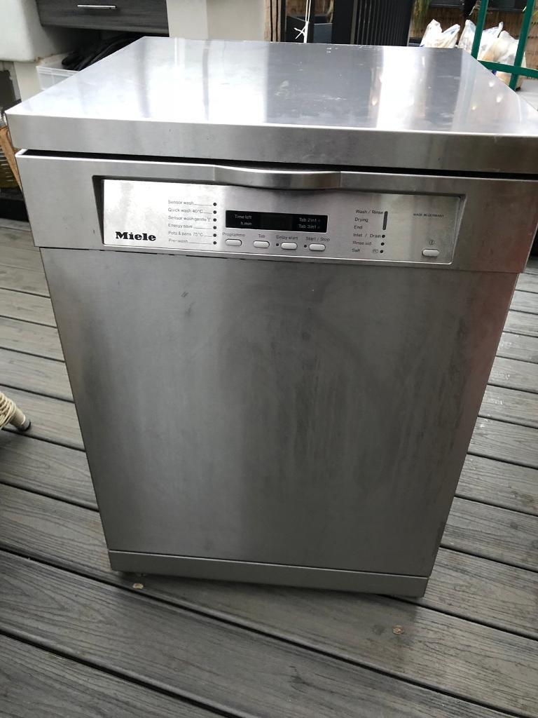 Miele Dishwasher Stainless Steel G1230sc