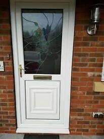 PVC front door