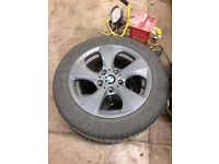 BMW 16 inch Alloys with tyres, great condition