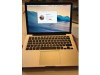Apple MacBook Pro with Retina Display - 2.8GHz i7 - 8GB RAM - 500GB SSD
