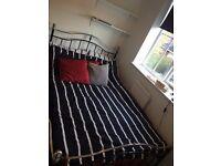 Small Double (3/4) Bed + Memory Foam Mattress