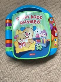 Fisher price musical nursery rhymes book