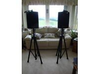 Technote TA-8A Active Studio Monitor Loudspeakers with Stands
