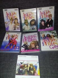 BBC 1 - ABSOLUTELY FABULOUS COMPLETE SERIES DVDS