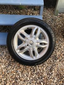 Clio mk3 15' inch wheel and tyre