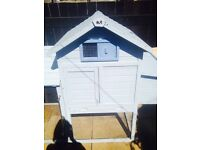 Large Chicken coop house/ Rabbit hutch & run